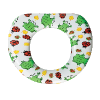 Bemis Training Potty Seats Leaping Frogs