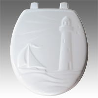 Bemis 36EC LIGHTHOUSE Sculpted Design, Round Front