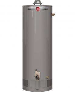RHEEM 40 GAL GAS MANUFACTURED